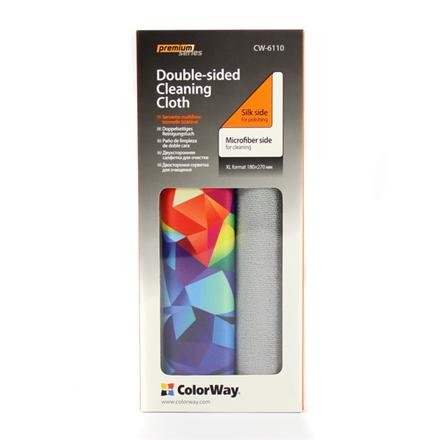 ColorWay Premium Double-Sided Cloth tīrīšanas līdzeklis