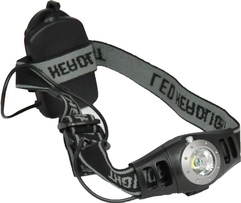 Axer Bike HEAD TORCH czarno-szara (A1165) A1165