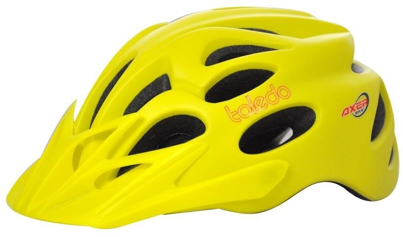 Axer Bike BICYCLE HELMET TOLEDO YELLOW  r. L  (A1956) A1956-L