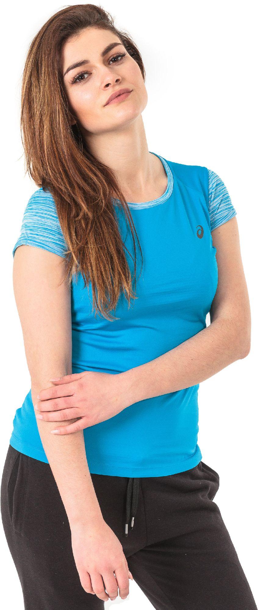 Asics Koszulka damska FuzeX Top Asics  niebieska r. M (1412558012) 1412558012