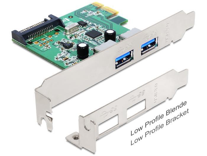 Delock PCI Express Card > 2 x USB 3.0 karte