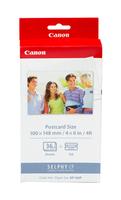 Paper + Ink Canon KP36IP Ink Paper Set | 100x148mm | 36pcs | CP100/220/300 papīrs