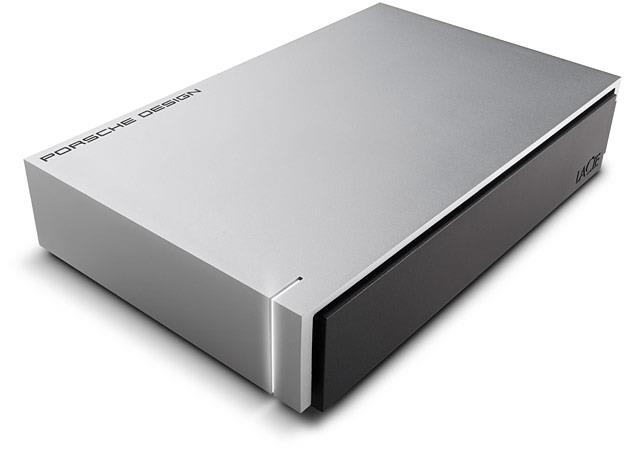 LaCie Porsche P'9233 3.5'' 8TB USB3, Designed for Apple Mac Ārējais cietais disks