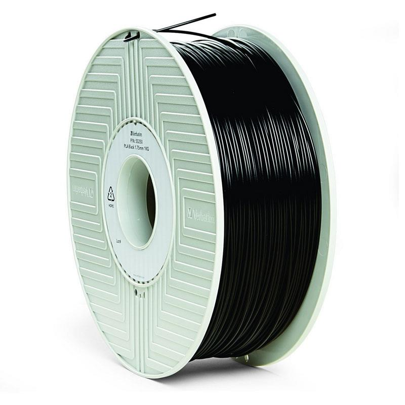 Verbatim - Black - 1 kg - PLA filament (3D) (55267) 3D printēšanas materiāls