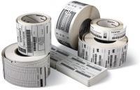 Zebra Label roll, 76x25mm, 12pcs/box thermal paper, premium coated 35-800263-105