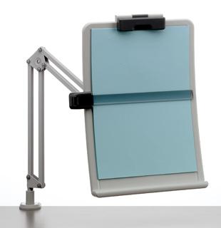 Copy Holder A4 (arm attached to the top) biroja tehnikas aksesuāri