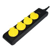 Logilink LPS212 1.4 m, Black, Yellow datortīklu aksesuārs
