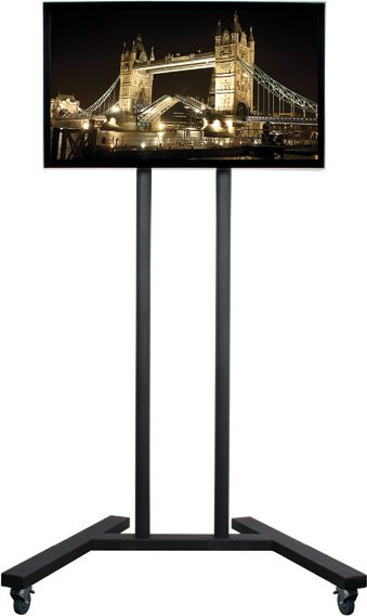 B-Tech Flat Screen Floor Stand Trolley (up to 60)