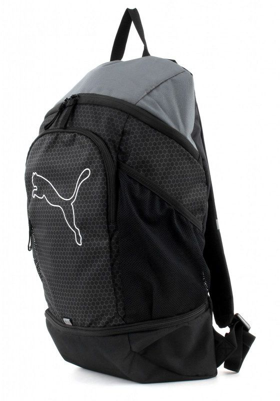 Puma Sports backpack Echo Backpack 23L black (074396 01) Tūrisma Mugursomas