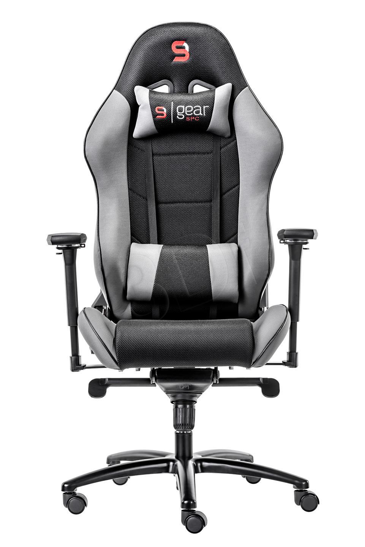 SILENTIUM PC Gear SR500F GY Gaming Chair datorkrēsls, spēļukrēsls