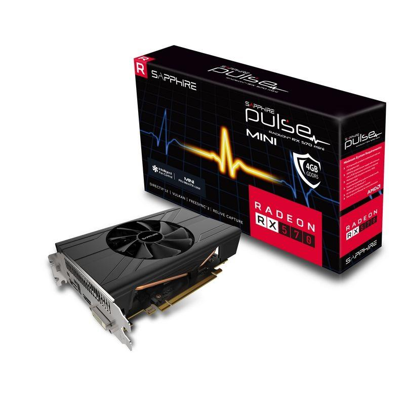 Sapphire Pulse Radeon RX 570 ITX 4G, 4096 MB GDDR5 video karte