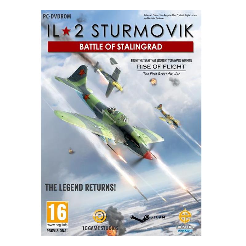 PC IL-2 Sturmovik Battle of Stalingrad spēle