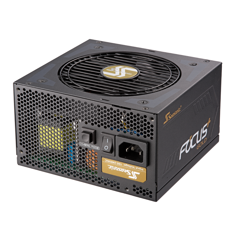 Seasonic Focus Plus 80 Plus Gold Netzteil, modular - 750 Watt Barošanas bloks, PSU