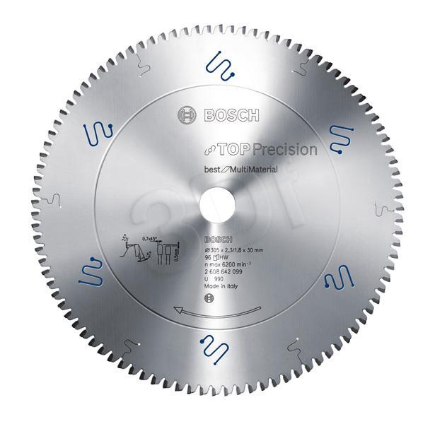 Disc BOSCH 2608642098 (Metal; 254 mm) Elektriskais zāģis