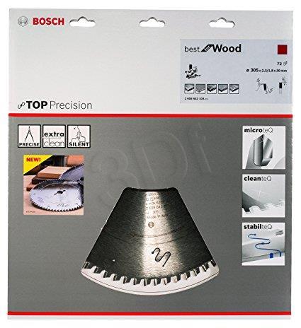Disc BOSCH 2608642103 (Metal; 305 mm) Elektriskais zāģis