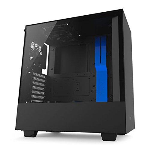 NZXT H500 Window Black/Blue Datora korpuss
