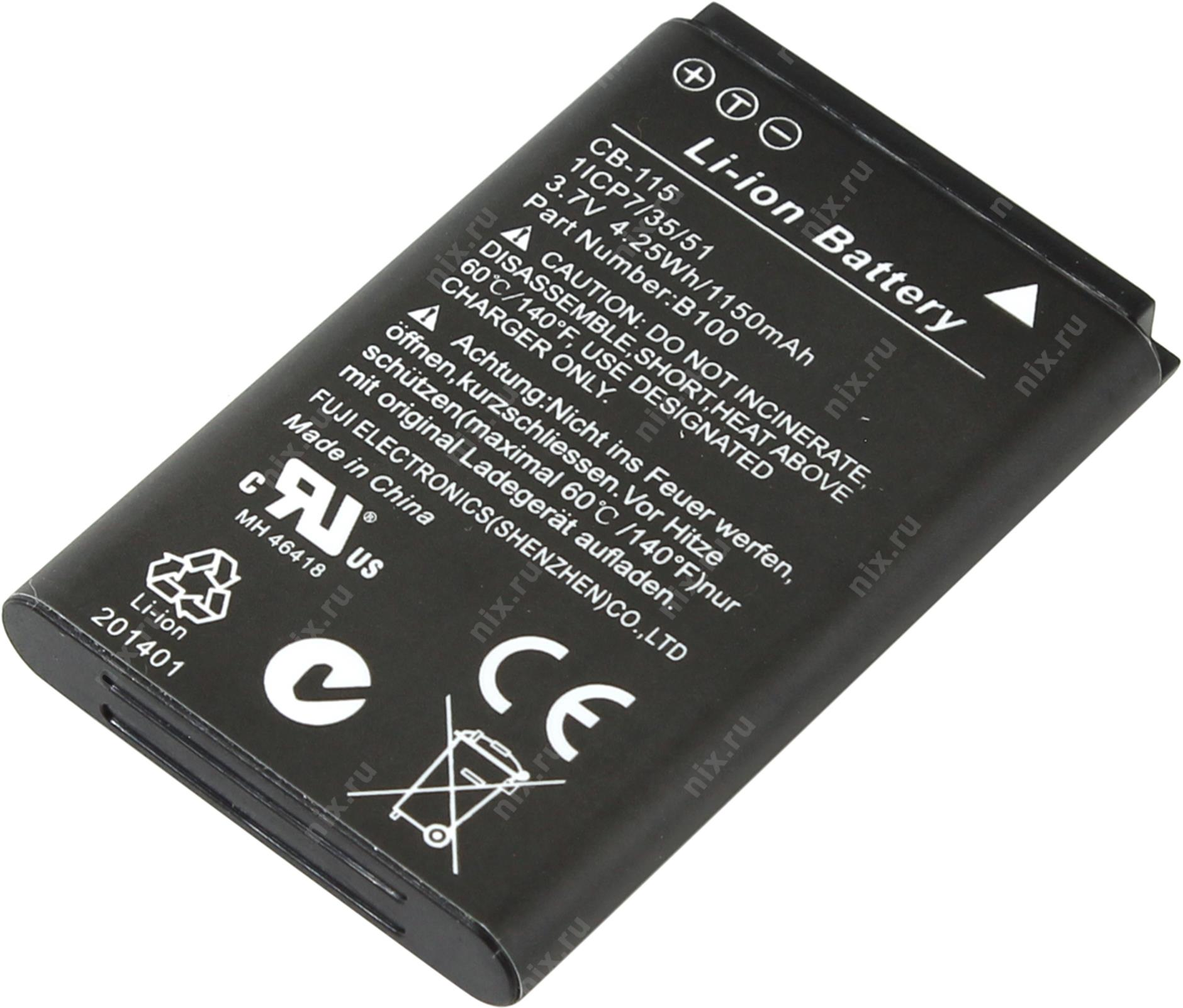 CAT B100 original battery CB-115 1150 mAh akumulators, baterija mobilajam telefonam