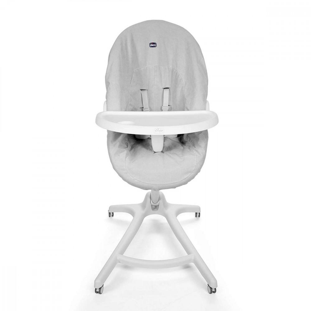 CHICCO Set The Baby Hug 4w1 Tray + Cover bērnu barošanas krēsls