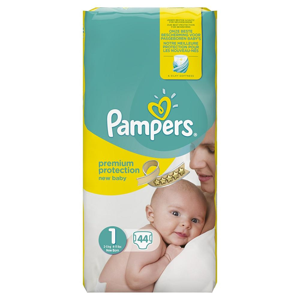 Pampers Premium Protection New Baby 1 (2-5kg) T-MLX25666