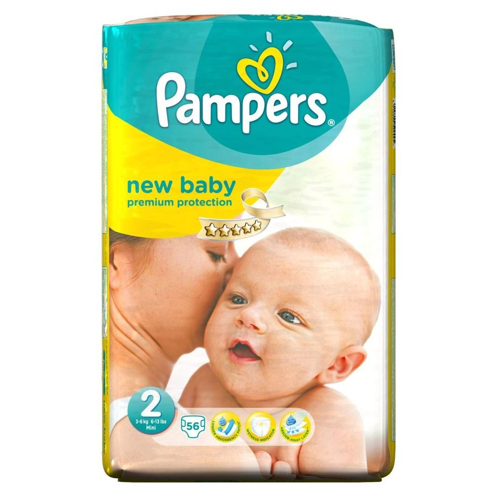 Pampers Premium Protection New Baby 2 (3-6kg) T-MLX25668