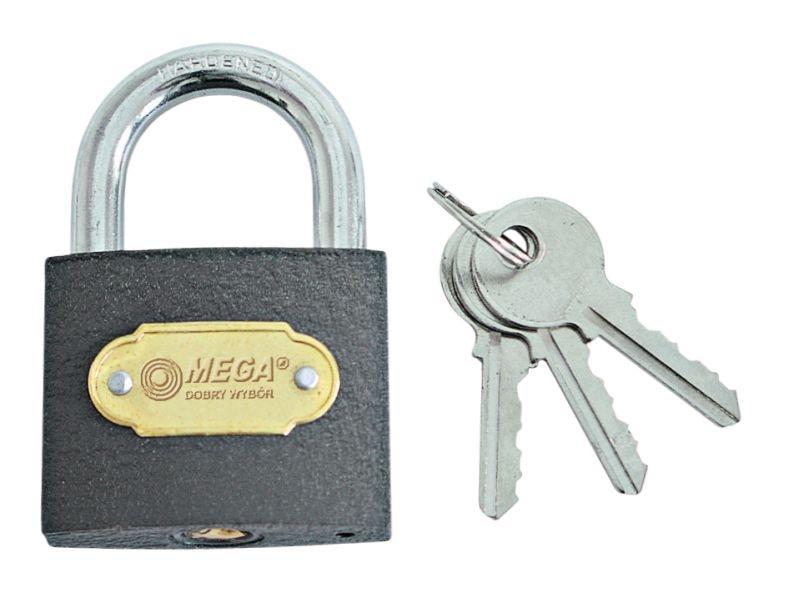 Piekaramā slēdzene 75mm Mega 5903755030740