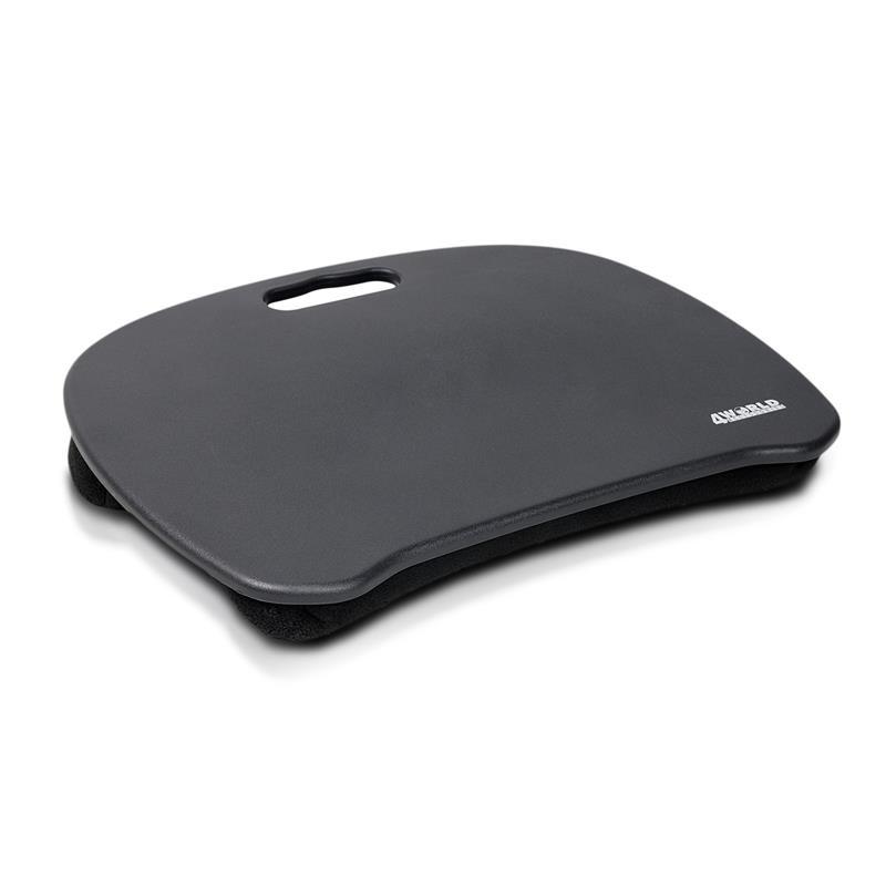 4World Notebook pad for NB 15.6'' Black portatīvā datora dzesētājs, paliknis