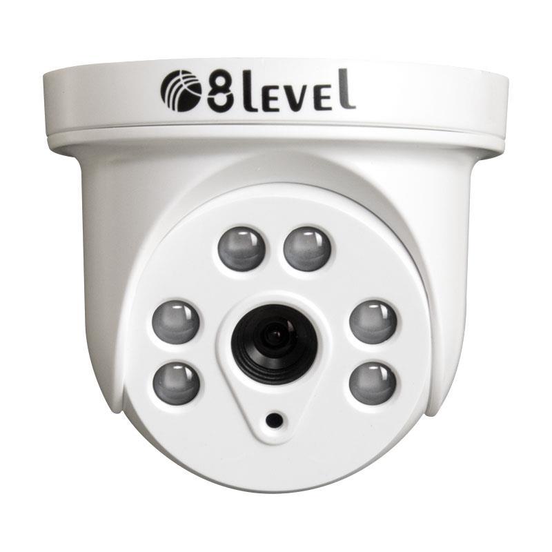 8level AHD camera 2MP AHD-I1080-363-3 BNC 3.6mm 1080p novērošanas kamera