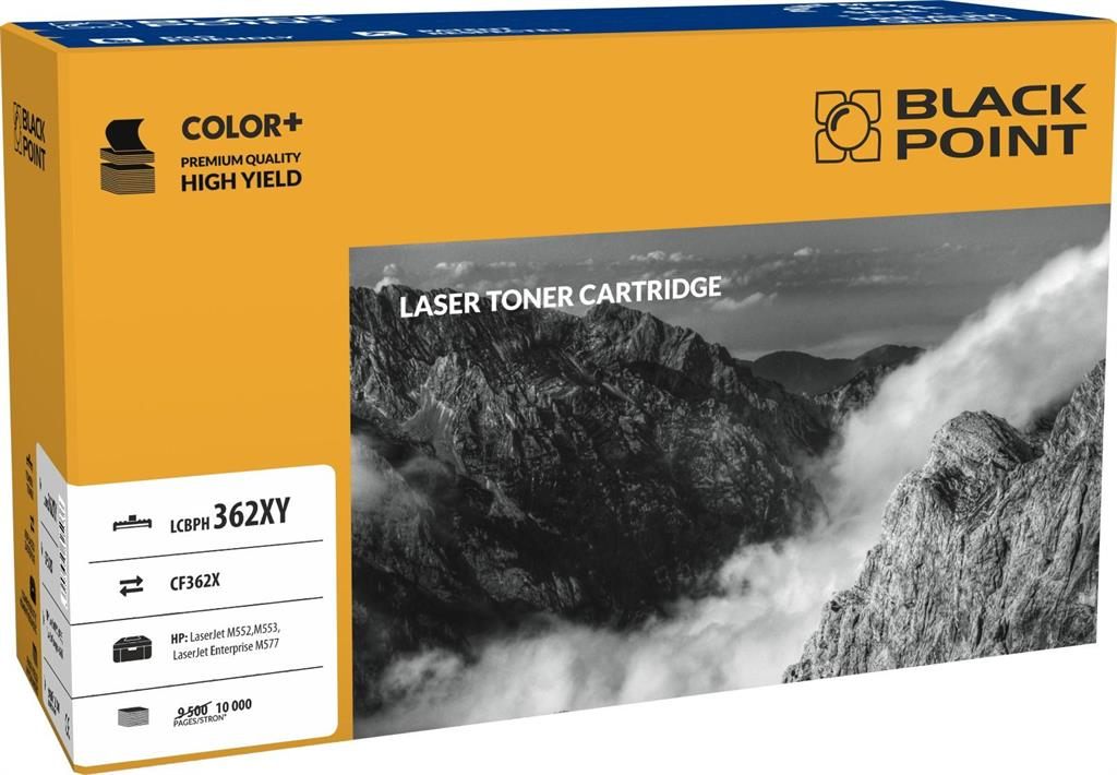 Toner Black Point LCBPH362XY | yellow | 10 000 pp | HP M552 / M553 / M577
