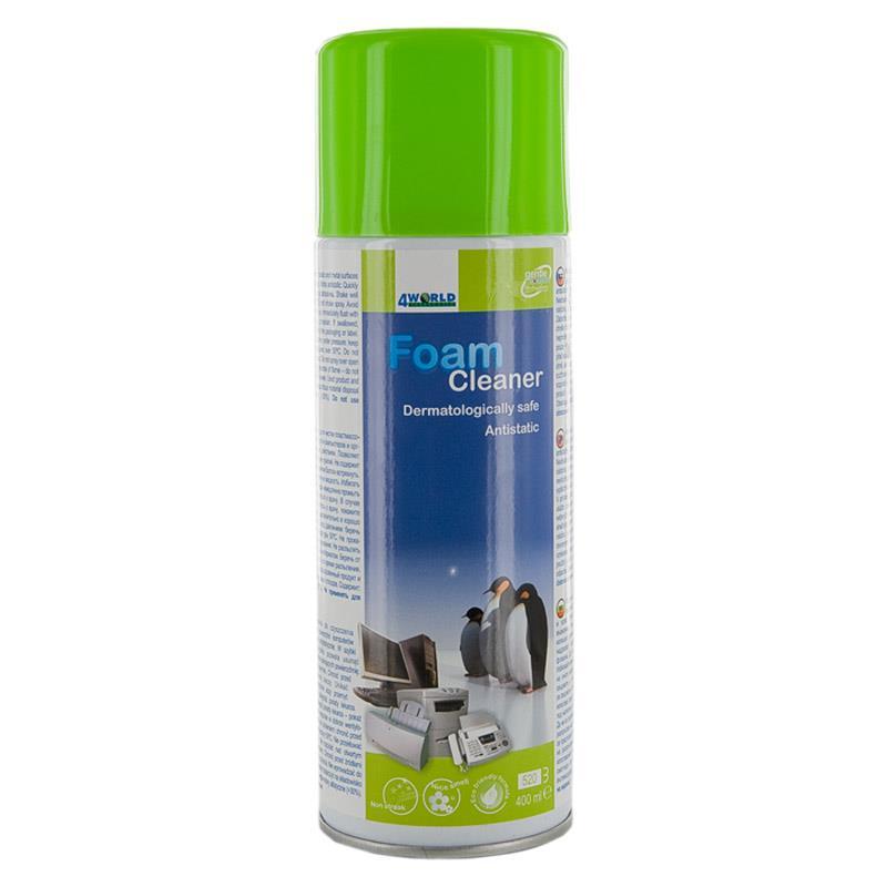 4World Foam cleaner for plastic 400ml 04837 tīrīšanas līdzeklis