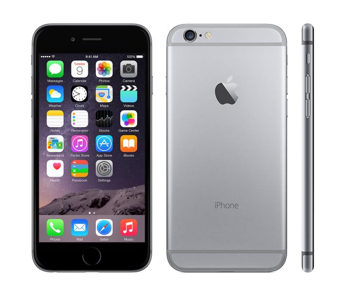 Apple iPhone 6 16GB Space Grey (Atjaunots, garantija 6 mēneši) Mobilais Telefons