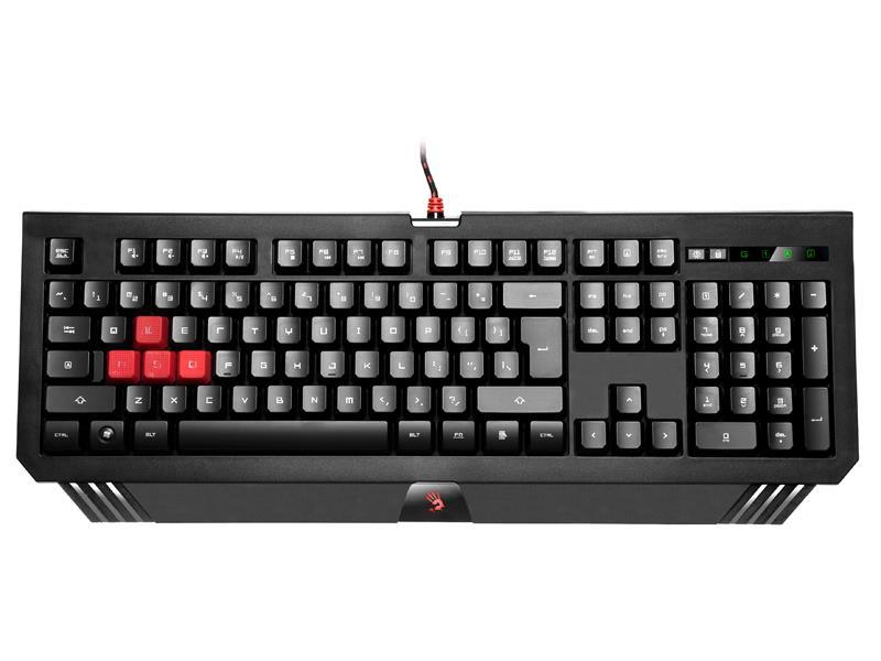 A4Tech Bloody B120 USB, US Gaming keyboard klaviatūra