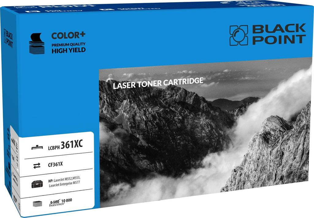 Toner Black Point LCBPH360XBK | cyan | 10 000 pp | HP M552 / M553 / M577