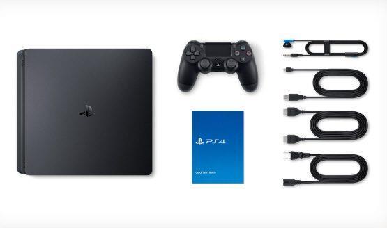 PLAYSTATION 4 CONSOLE 1TB SLIM/BLACK SONY spēļu konsole