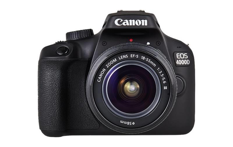 CANON CAMERA DSLR EOS 4000D KIT/18-55 DC III 3011C004 Spoguļkamera SLR
