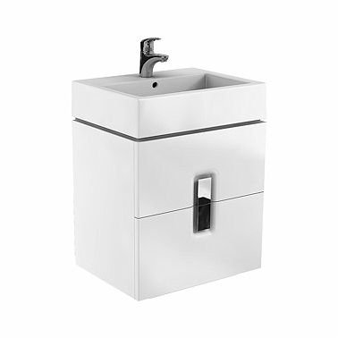 KOLO Twins 60cm white washbasin cabinet (89492000)
