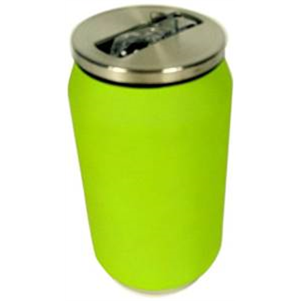 Yoko Design Isotherm Tin Can 280 ml, Soft touch lime Matrači un tūrisma paklāji