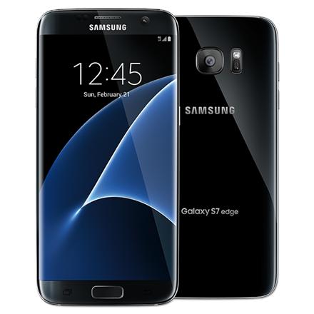Samsung Galaxy S7 EDGE 32GB SM-G935F BLACK Mobilais Telefons