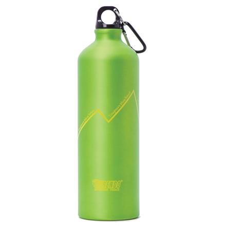 FRENDO Water Bottle Rainbow 1000 ml, Green Matrači un tūrisma paklāji