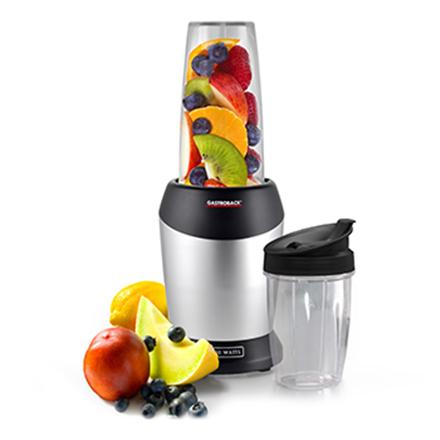 Gastroback 41029 Design Micro Blender, Capacity 1L and 800ml, Stainless steel design, Dishwasher safe, 1000W Blenderis