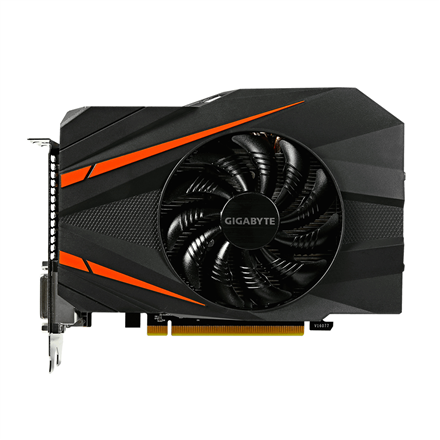 Gigabyte GeForce GTX 1060 Mini ITX OC, 6GB GDDR5 (192 Bit), HDMI, 2xDVI, DP video karte