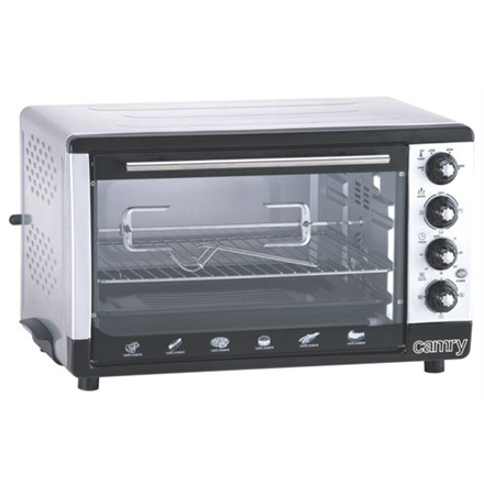Camry Electric Oven CR 111 43 L, White/Black, 2000 W Cepeškrāsns