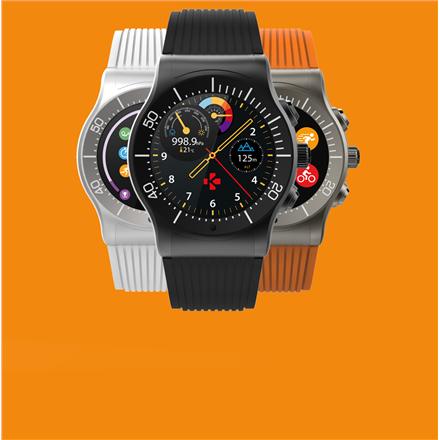 MyKronoz ZESPORT Smartwatch, Black, Touchscreen, Bluetooth, Heart rate monitor, GPS (satellite), Waterproof Viedais pulkstenis, smartwatch