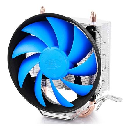 Deepcool Gammaxx 200T universal cooler, 2 heatpipes, 120mm PWM fan,  Intel Socket LGA115X / 775, 95 W TDP and AMD Socket ventilators