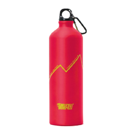 FRENDO Water Bottle Rainbow 1000 ml, Red Matrači un tūrisma paklāji