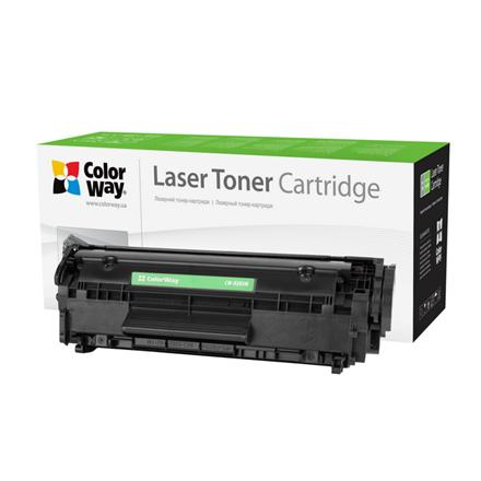 ColorWay Econom Toner Cartridge, Black, HP CF283A (83A) kārtridžs