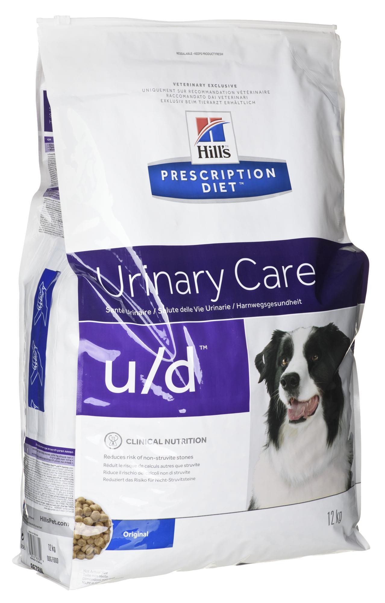 Hills  Prescription Diet u/d Canine 12kg barība suņiem
