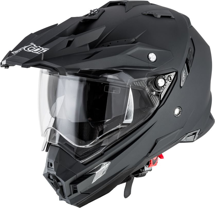 Alltop Kask motocyklowy motocrossowy AP-8851 matt.czarny r. XXL (8837-XXL-1) 8837-XXL-1