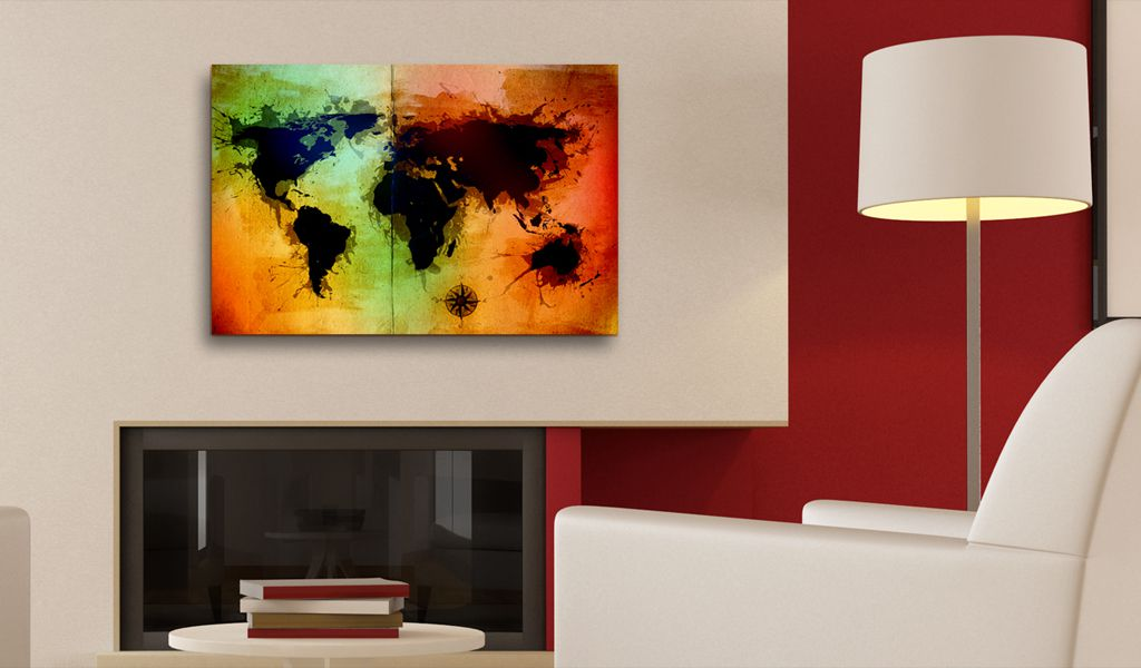Artgeist Obraz - Czarne lady 90x60 BP-N2045-DKX
