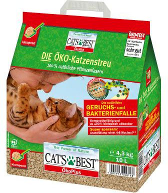 JRS Cats Best Eco Plus 10 L red piederumi kaķiem
