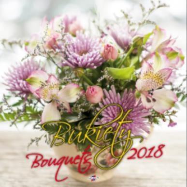 AVANTI Kalendarz 2018 Bukiety (KD-8) 248623